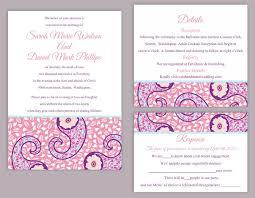 indian wedding card sle diy wedding invitation template set editable text word