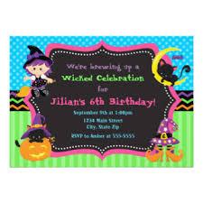 halloween birthday invitations u0026 announcements zazzle canada