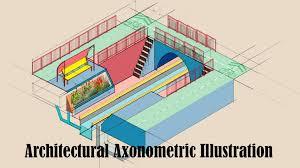 Architectural Diagrams Making An Architectural Axonometric Diagram Using Adobe