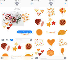 best imessage stickers for thanksgiving imore