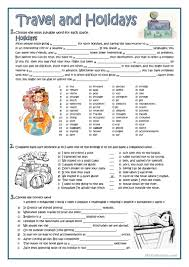 Stranger Danger Worksheets Travel And Holidays Worksheet Free Esl Printable Worksheets Made