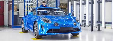 alpine renault 2017 introduces alpine a110 production line in dieppe france
