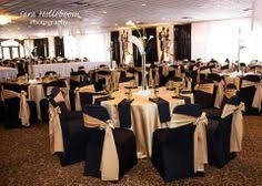 gold spandex chair covers a black spandex chair cover with a satin pewter sash what a great