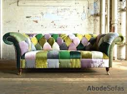Chesterfield Patchwork Sofa Patchwork Sofa Loud And Proud The Rise Of The Funky Sofa The Times