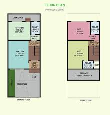 row house floor plan uncategorized row house floor plans in amazing narrow house