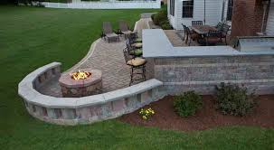 Bbq Firepit Outdoor Bbq Pit Rivera S Landscaping Construction Inc