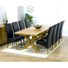 Oak Dining Room Table And Chairs Dining Room Table And 8 Chairs 8 Dining Table And Chairs