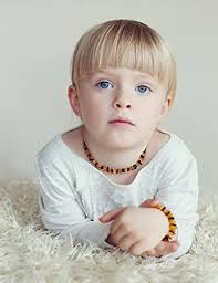 amber necklace baby images Multicoloured set of amber teething necklace and jpg
