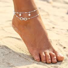 ankle bracelet from images Infinity ankle bracelet p u r o v i a jpg
