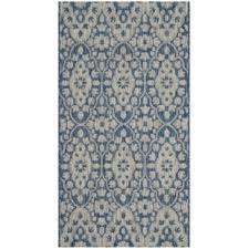 Viera Area Rug Viera Gray Navy Area Rug Wayfair
