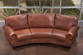 Sectional Leather Sofas For Small Spaces Small Curved Leather Sectional Tedx Decors The Awesome Curved