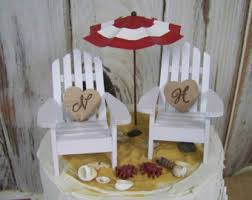 chair cake topper adirondack cake top etsy