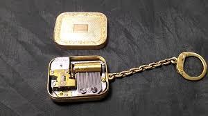 box keychain reuge mini box key chain