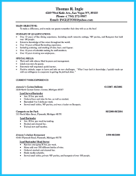 Job Resume Key Qualifications by Impress The Recruiters With These Bartender Resume Skills