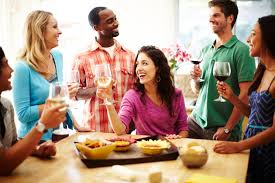 home party plans how to use your open plan home to host a party