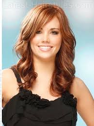 turning 40 hairstyles wave excellence long wavy casual hairstyle love the color of this