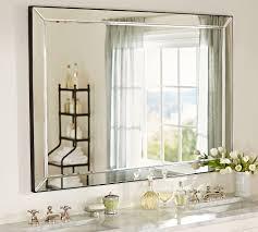 astor double width mirror pottery barn bathroom reno