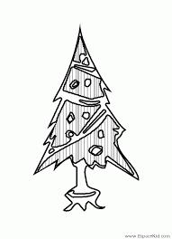 Coloriage Petit sapin de Noël à imprimer dans les coloriages Sapin
