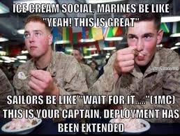 Us Marine Meme - marines love ice cream socials navy memes clean mandatory fun