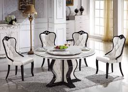 Round Dining Room Table And Chairs by Marble Dining Room Table And Chairs Ciov