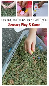 halloween buttons button in a haystack sensory bin u2013 the pinterested parent