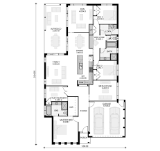 Metricon Floor Plans Single Storey by Aria 28 From Modernview Homes