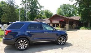 Ford Explorer Platinum - taking the ford explorer platinum for a spin around akron akron
