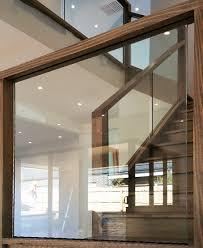 Glass Banister Staircase Glass Balustrade Stairs Melbourne Frameless Glass Balustrade