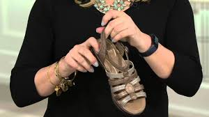 dansko multi strap sandals with adjustable strap drea on qvc
