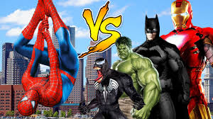 spiderman godzilla superman spiderman cartoons singing