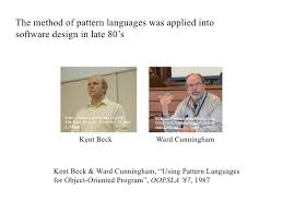 pattern language of program design pattern language 3 0 methodological advances in sharing design knowl