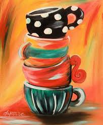 painting for kitchen got a problem just handle it great painting funky whimsical and