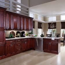 kitchen room design dark brown cabinet modern kitchen island