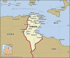 tunisia on africa map tunisia history map flag population facts britannica
