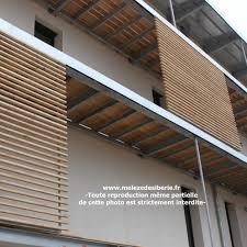 bardage bois claire voie ml trapezia 45x45x2000mm meleze de siberie