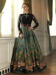 gown design princess style heavy gown at rs 2850 gown