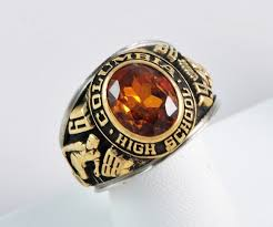 highschool class ring columbia high school class ring 1979 1988 mens ring 1215