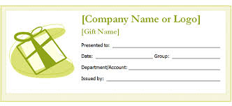 printable gift certificate templates sampleprintable com