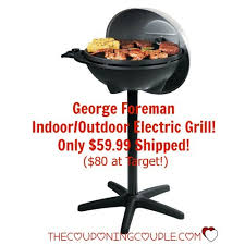 target at arlington tx black friday george foreman indoor outdoor grill only 59 99 shipped 80 at
