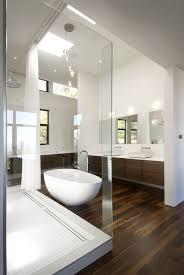 Wood Floor In Bathroom 343 Best Interiors Bathrooms Images On Pinterest Room