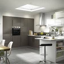 Kitchen Design B Q Bandq Kitchen Design B Q Santini Gloss Anthracite Slab It Kitchen