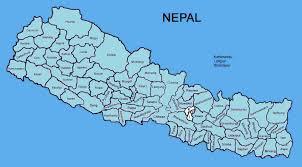 Twin Peaks Map Nepal Map