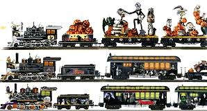 sizes and scales of halloween trains
