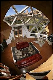 geodesic dome home interior geodesic domes gain weight and settle treehugger