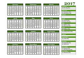 2017 calendar templates download 2017 monthly u0026 yearly templates