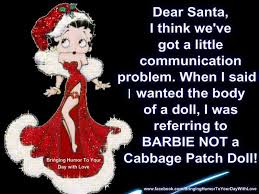 dear santa betty boop quote pictures photos and images for