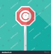 letter c copyright register icon vector stock vector 679123996