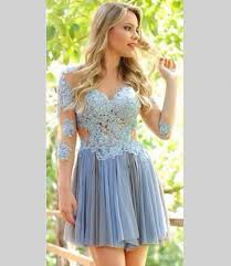 promotion dresses for 8th grade sleeve lace homecoming dresses 2016 graduation dresses