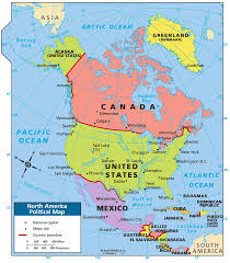 The United States And Canada Political Map by Some Mildly Interesting Geography That You Guys Won U0027t Probably