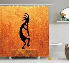 Southwestern Style Curtains High Quality Arts Shower Curtains Kokopelli Southwestern Style